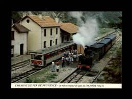 06 - THORAME-HAUTE - Le Train à Vapeur - Chemins De Fer De Provence - Locomotive - Train - France