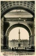 LENINGRAD - Le Palais D' Hiver - Papier Photo Souple Et Glacé - 2 Scans - Rusland