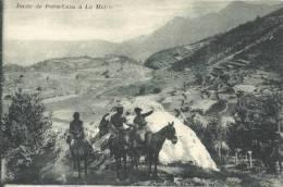 06 Route De Peira Cava à La Mairis Chasseurs Alpins Militaires - Lucéram - Lucéram
