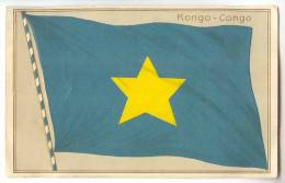 D9590 -  Drapeau - étendard  - CONGO - Congo - Brazzaville