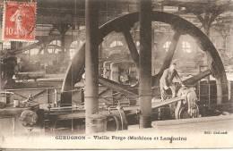 GUEUGNON . MACHINES ET LAMINOIRS . INTERIEUR DE L USINE - Gueugnon