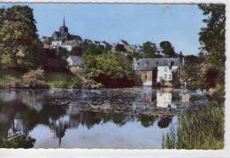 La Chapelle-sur-Oudon..belle Vue Du Village..l'Eglise..l'Oudon - Non Classificati