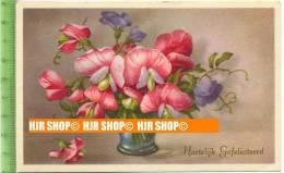 """""""Blumen"""" Um 1940/1950, Ansichtskarte  Ungebrauchte Karte - Botanik"""