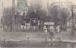 Saint-Maur Port - Créteil 94 - Restaurant Camus - Villa Schacken - Oblitérations - Saint Maur Des Fosses