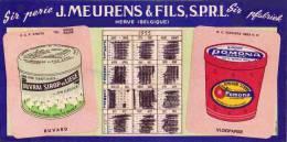 SIROPERIE MEURENS  HERVE 1955 SIROP SIROOP POMONA - Alimentaire