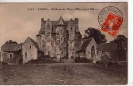 Miré..belle Vue Du Château De Vaux - France
