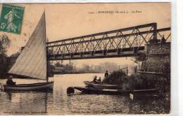 Morannes..animée..le Pont..barques..voilier - Unclassified