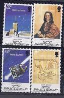 BritishAntarctica1986: Yvert1271-4(Scott129-32)mnh** HALLEY'S COMET - British Antarctic Territory  (BAT)
