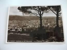 Firenze Panorama Da Bellosguardo Villa Franchetti - Firenze