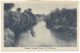 2288-ZINASCO VECCHIO(PAVIA)-IL TERDOPPIO-ANIMATA-1945-FP - Pavia