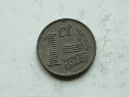 1944 - 1 CENT / KM 170 ( Uncleaned Coin - For Grade, Please See Photo ) !! - [ 3] 1815-…: Königreich Der Niederlande