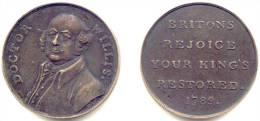 ANGLETERRE . CONDOR TOKEN . DOCTOR WILLIS . 1789 . - Royal/Of Nobility