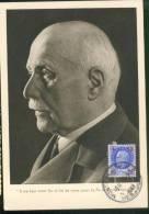 Pétain - Cartes-Maximum