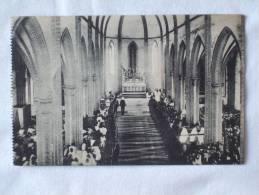 Herent. Witte Zusters. Plechtige Dienst In Kerk Van Boudewijnstaf. Postulaat Der Zusters Missionarissen O.L.V. Afrika. - Herent