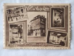 """Liège. Café-restaurant Du """"Vieux-Liège"""". Quai De La Goffe. Ancienne Maison Havart. - Luik"""