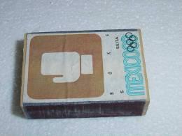 Boite D´allumettes  Mexico 1968 Boxe - Non Classificati