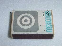 Boite D´allumettes  Mexico 1968 Tir - Scatole Di Fiammiferi