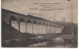 MOUTHIERS  VIADUC DES COUTEAUBIERES SUR LA BOEME  LIGNE PARIS BORDEAUX - France