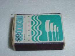Boite D´allumettes  Mexico 1968 Aviron - Scatole Di Fiammiferi