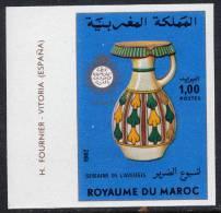 MAROC N°924** NON DENTELE  SEMAINE DE L'AVEUGLE - Maroc (1956-...)
