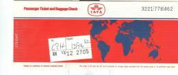 IATA, ALITALIA, BIGLIETTO  AEREO  1987, VIAGGIO MILANO-COPENHAGEN,