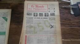 LOT 221 JOURNAL LE MONDE DES PHILATELISTES EDITION N�250