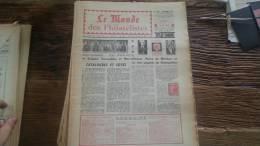 LOT 224 JOURNAL LE MONDE DES PHILATELISTES EDITION N�247
