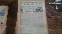LOT 226 JOURNAL LE MONDE DES PHILATELISTES EDITION N�245