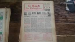 LOT 227 JOURNAL LE MONDE DES PHILATELISTES EDITION N�244
