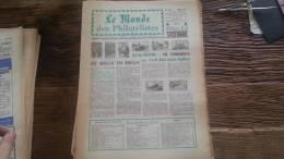 LOT 229 JOURNAL LE MONDE DES PHILATELISTES EDITION N�242