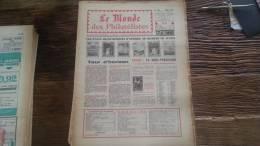 LOT 230 JOURNAL LE MONDE DES PHILATELISTES EDITION N�241