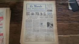 LOT 231 JOURNAL LE MONDE DES PHILATELISTES EDITION N�240