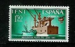 IFNI 1967: Neuer Hafen,  Mi.-Nr.  258    ** - Ifni