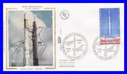 FDC (GF-PJ) - Salon International De L´Aéronautique Et De L´Espace - Poste Aérienne N° 52 (Yvert) - France 1979 - FDC