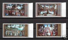 Vaticano 2002   La Cappella Sistina La Serie Cpl.4 Valori Nuovi** - Vaticano
