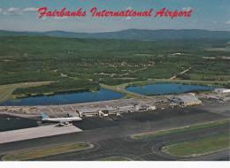 Airplane At Airport , FAIRBANKS , Alaska , 60-70s - Fairbanks