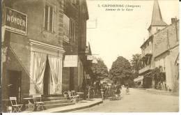 CPA  CAPDENAC, Avenue De La Gare  6685 - Otros Municipios