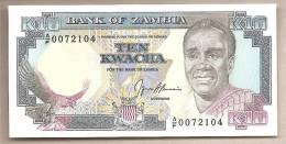Zambia - Banconota Non Circolata Da 10 Kwacha - Zambia