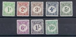 COLIN0007 YVERT Nº TAXE 1/8 - Islas Gilbert Y Ellice (...-1979)
