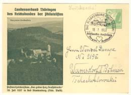 Deutsches Reich Ganzsache LPP 169 gebraucht