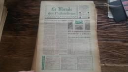 LOT 274 JOURNAL LE MONDE DES PHILATELISTES EDITION N�293