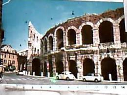 VERONA  L'ARENA AUTO  CAR  VW BEETLE TARGA VR .... E INNOCENTI BIANCHINA VB1966  DY6243 - Verona