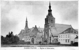 Basse-Wavre. Eglise Et Séminaire. Edit.Charlier-Niset, Wavre. Bon Etat - Wavre