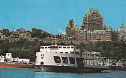 Levis From Ferry Boat, Quebec, Canada, 40-60s - Levis