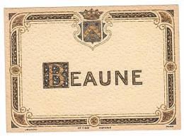 ETIQUETTE - BEAUNE. - Bourgogne