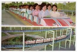 Postcard - North Korea, Amusement Park    (V 15043) - Corée Du Nord