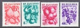 Bulgaria 929-32   *  FRUITS - 1945-59 People's Republic