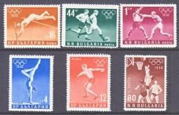 Bulgaria 940-5   *  SPORTS  OLYMPICS - 1945-59 People's Republic