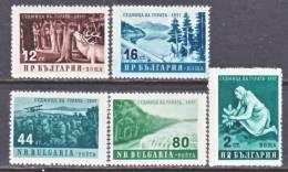 Bulgaria 977-81    *  TREES - 1945-59 People's Republic