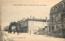 33 SAINT LOUBES ENTREE DE LA VILLE COTE LIBOURNE - France